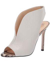c08ebbc2083 Lyst - Jessica Simpson Divella Platform Sandals in Brown