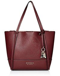 Guess - Heidi Double Faced Tote - Lyst