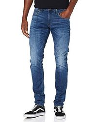 G-Star RAW - 3301 Deconstructed Skinny Jeans - Lyst