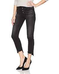 AG Jeans - The Isabelle Vintage Straight Leg Crop Jean - Lyst