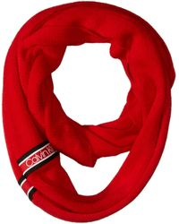 Calvin Klein Infinity Scarf - Red