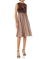 Tracy Reese Lace Bodice Dress - Multicolor
