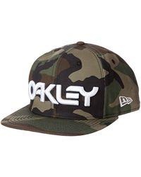Oakley Cappellino Snapback New Era Mark II Novelty Core Camo - Multicolore