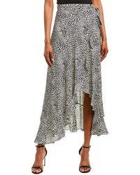 Nanette Lepore Maxi Wrap Skirt - Multicolor