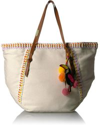 Foley + Corinna Beach Tote With Charm - Multicolor