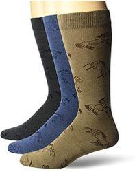 Wrangler - Ladies Horse Boot Socks 3 Pair Pack - Lyst