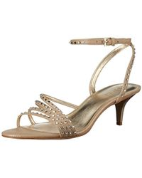 551afb440c8 Nine West - S Lastage Open Toe Special Occasion Strappy Sandals - Lyst