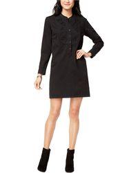 Lucky Brand Popover Dress - Black