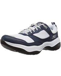 b4ccfe2efe60 Lyst - Skechers Gowalk Mantra Ultra Walking Shoe in Blue