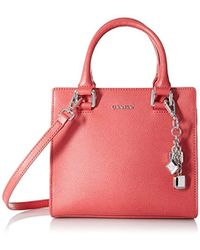 Calvin Klein - Logan Mercury Leather Crossbody - Lyst