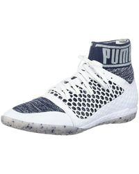 PUMA 365 Evoknit Netfit Ct Soccer Shoe - White