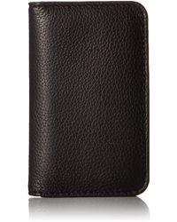 Buxton Snap Card Case Rfid - Black