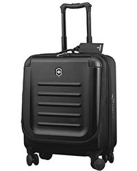 Victorinox Spectra 2.0 Dual Access Extra-capacity Carry-on, Black