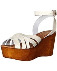 Seychelles High And Low Platform - White