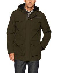 Levi's Arctic Cloth Sherpa Lined Field Parka Jacket - Grün