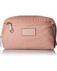 Rebecca Minkoff Nylon Cosmetic Pouch - Pink