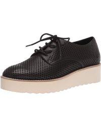 Vince Camuto Nillindie Platform Oxford Loafer - Black
