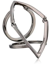 Campbell Marquee Full Finger Ring - Multicolor