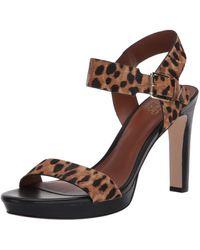 Franco Sarto Nisha Quarter/ankle/t-strap Sandal - Brown