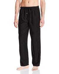 Jockey Poly Rayon Sleep Pant - Black