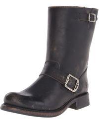 Frye Jenna Engineer Boot - Black