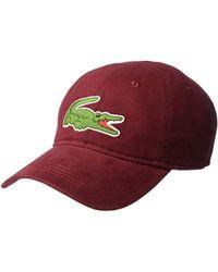 7c162625 Lacoste - Baseball Cap - Lyst