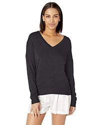 Josie Modal Knit Top - Black