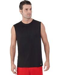 Russell Athletic Dri-power Performance Mesh Sleeveless Muscle - Black
