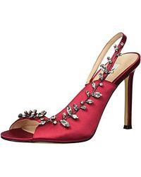 Crimson Voltage Heels