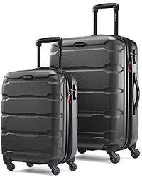 "Samsonite Transyt Expandable Softside Luggage Set With Spinner Wheels, 2-piece (20""/28""), Black"