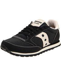 Saucony Mens Jazz Low Pro Vegan Sneaker Road Running - Black