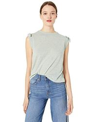 Ella Moss - Betty Tie Shoulder Knit Top - Lyst