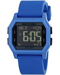 Rip Curl A2701 Atom Sport Watch With Blue Band