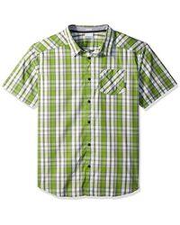 Columbia - Decoy Rock Ii Short Sleeve Shirt - Lyst