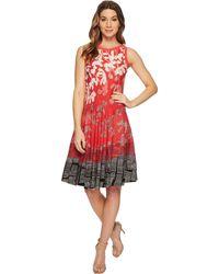 NIC+ZOE - Plus Size Terrace Twirl Sleeveless A-line Dress - Lyst