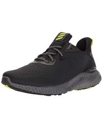 a4eff75f9 Lyst - adidas Alphabounce Em Ctd Running Shoe in Black for Men
