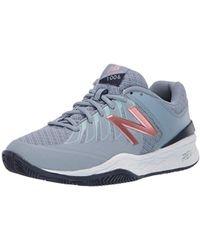 New Balance - 1006v1 Hard Court Tennis Shoe, Reflection/rose Gold, 10.5 2a Us - Lyst