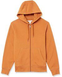 Amazon Essentials Full-Zip Hooded Fleece Sweatshirt Fashion-Hoodies - Arancione