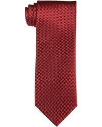 Izod Hilton Solid Tie,red,one Size
