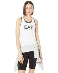 Emporio Armani Ea7 Train Tank - White