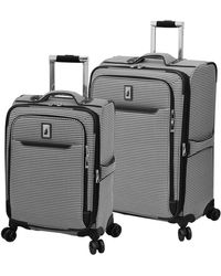 London Fog Cambridge Ii Softside Expandable Spinner Luggage - Black