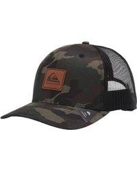 Quiksilver Easy Does It Snap Back Trucker Hat - Multicolor