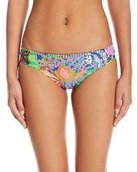 Trina Turk - Side Shirred Hipster Bikini Swimsuit Bottom - Lyst