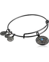 ALEX AND ANI Evil Eye Bracelet - Metallic