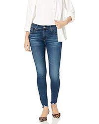 AG Jeans Farrah Skinny Ankle Jean - Blue