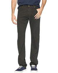 AG Jeans The Graduate Tailored Leg Sud Pant - Black