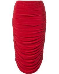 Norma Kamali Skirt - Red