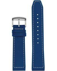 Citizen Cz Smart 22mm Smartwatch Blue Leather Interchangeable Strap