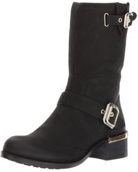 Vince Camuto Windy Motorcycle Boot - Black