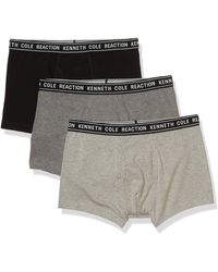 Kenneth Cole Reaction Angle Cotton Stretch Trunk - Gray